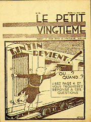 Edisi Tintin tahun 1930. Sumber: uk.news.com
