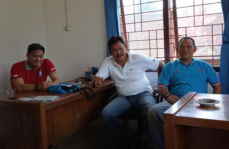 3 kandidat Ketum Koni Bangka, Eed, Yunizar, Mercy yang bakal tarung berebut untuk menahkodai Koni Bangka. (Foto: heru sudrajat)