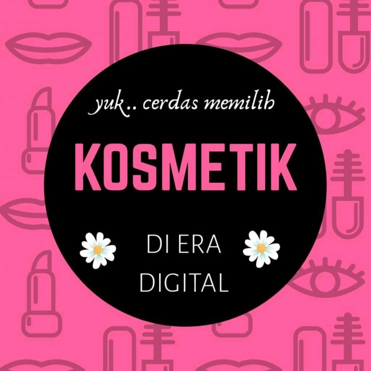 Cerdas Memilih Kosmetik di Era Digital (ilustrasi : penulis)