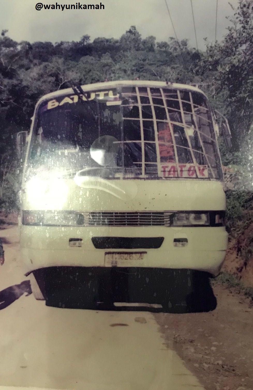 Bus antarkota di Sulawesi Utara-Tengah tahun 1999