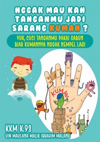 Pelatihan Mencuci Tangan Memberantas Kuman Bersama Tk A Yani