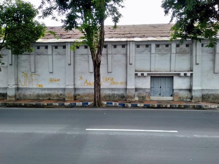 bekas bangunan pabrik minyak goreng banyuwangi