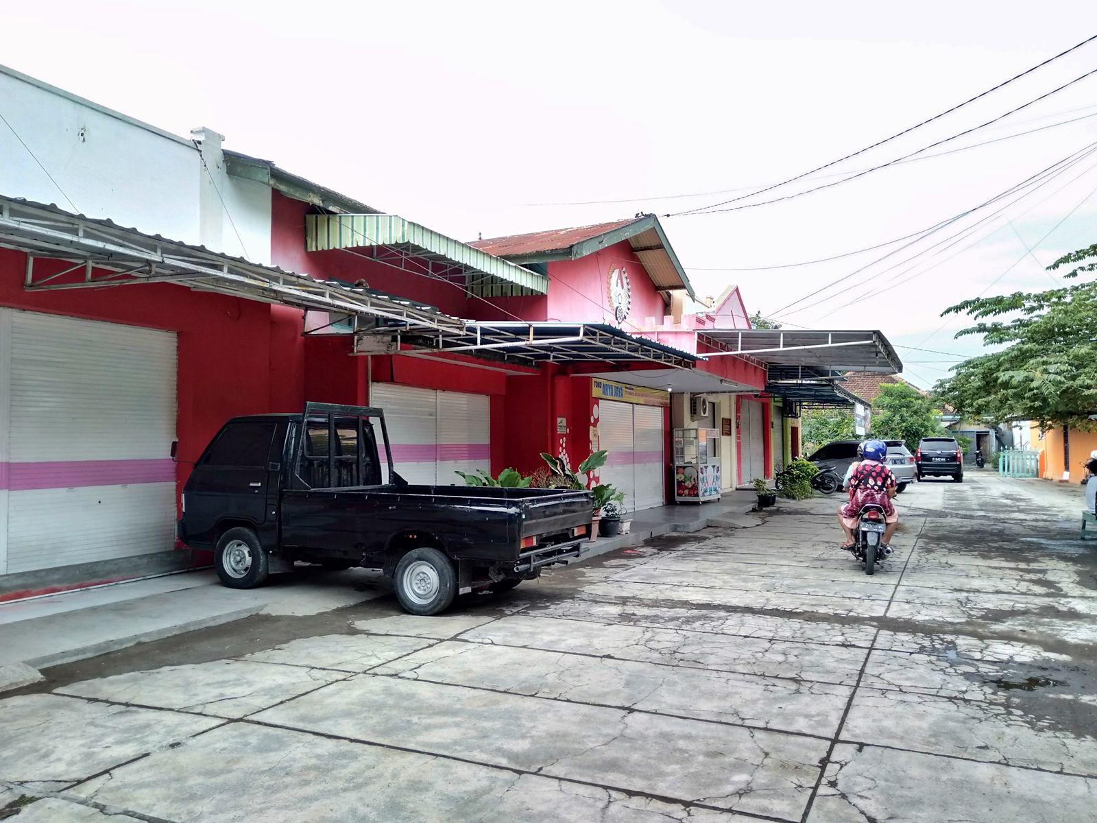 bagian depan stasiun banyuwangi lama