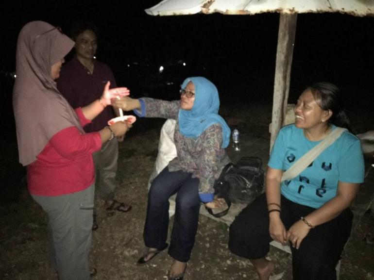 Tidur Di Bawah Bintang Teluk Sumbang Dan Kegalauan Pada Nasib Suku Dayak Basap Halaman 1 Kompasiana Com