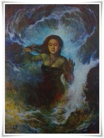 Mitos Lukisan Nyai Roro Kidul Ternyata Karya Pelukis