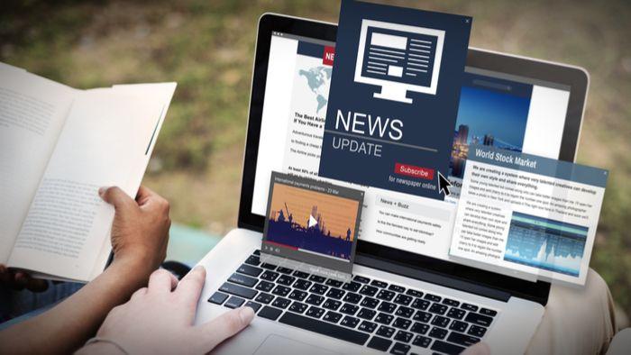 Ilustrasi Online Journalism