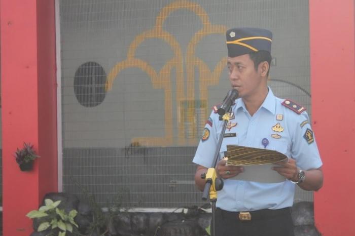 Amanat Kepala Rutan Garut, Sukarno Ali (Dokpri)