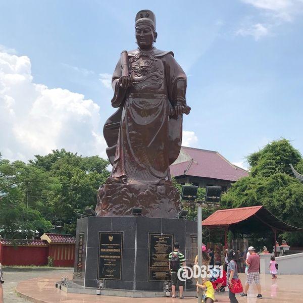 Patung Laksamana Cheng Ho   dok pribadi