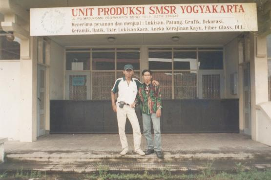 Masa Study Tour ke Yogyakarta (1998) - dokpri