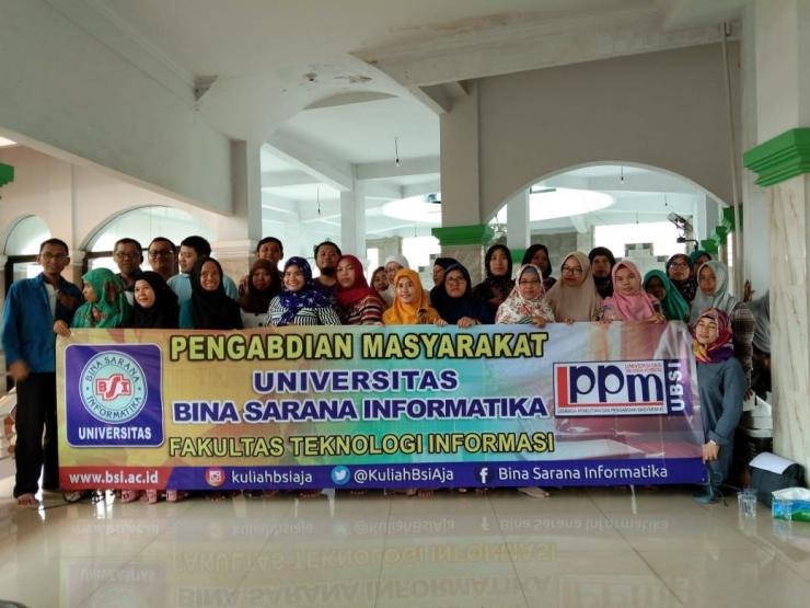 Pengabdian Masyarakat UBSI Jakarta | dokpri