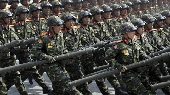 North Korea spends 22% of its GDP on defense expenditure - Picture: AP Photo/Wong Maye-E.Source:AP