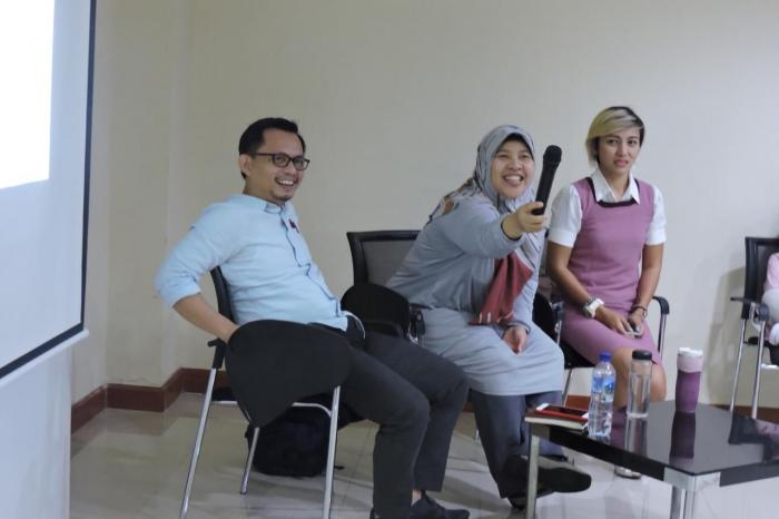 Kegiatan Seminar Tangkis Eksploitasi Anak. Dok by Lentera Anak