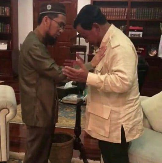 UAH dan Prabowo