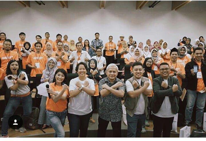 Keseruan diskusi bareng Semen Indonesia. Foto: @infogresik
