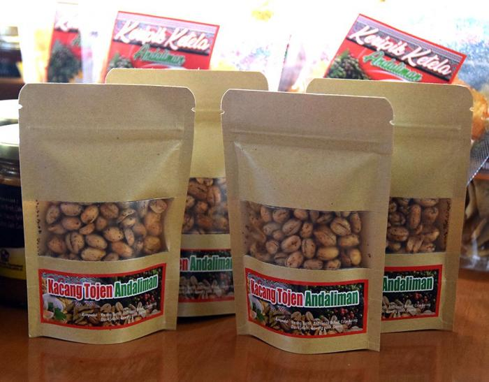 Kacang tojen Andaliman. (Foto GANENDRA)