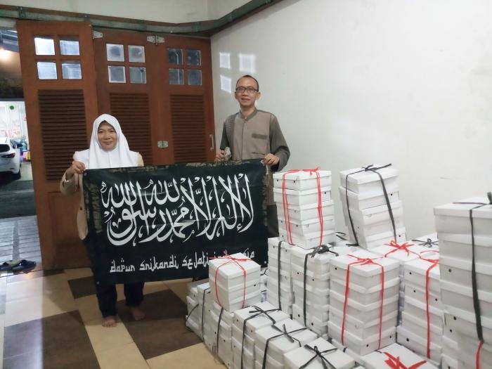 Pendistribusian bersama Srikandi Indonesia, Dokpri