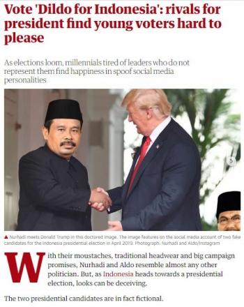 Reaksi Lucu Para Netizen Indonesia Dalam Menanggapi Pemilu