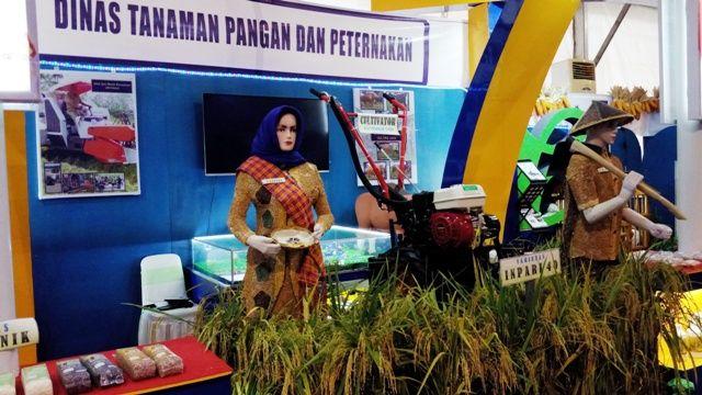 Pertanian menjadi salah satu primadona pameran (dokpri)
