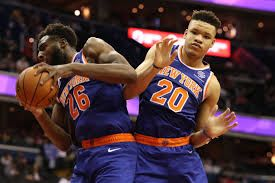 Mitchell Robinson dan Kevin Knox (daily Knicks)