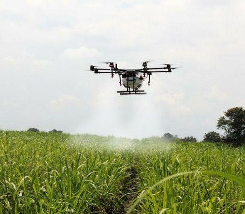 penyemperotan padi dengan drone (uavcoach.com)