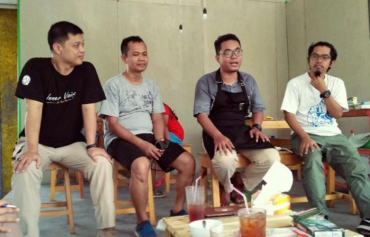 Penjelasan tentang Ludens cafe. Pic by Dok. Pri.