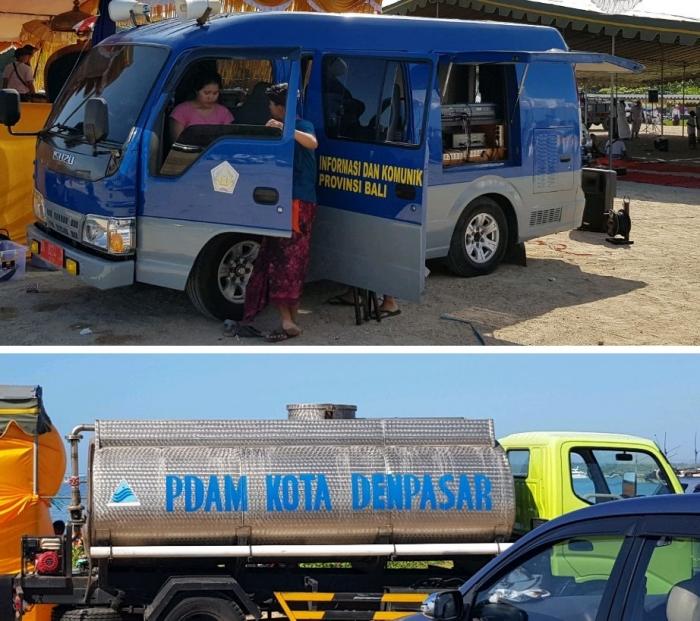Dukungan Pemerintah kota Denpasar