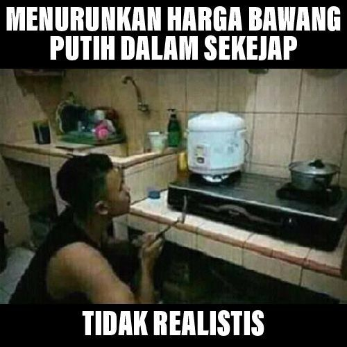 tidak realistis (liputan6.com/meme editan pribadi)