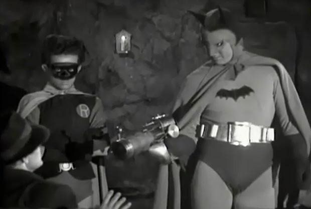 Batman versi Lewis G Wilson (denofgeek.com)