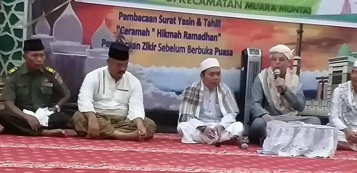 Suasana safari ramadhan