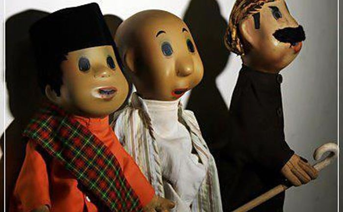 Unyil, Pak Ogah, dan Pak Raden (dari kiri ke kanan). Foto: baltyra.com