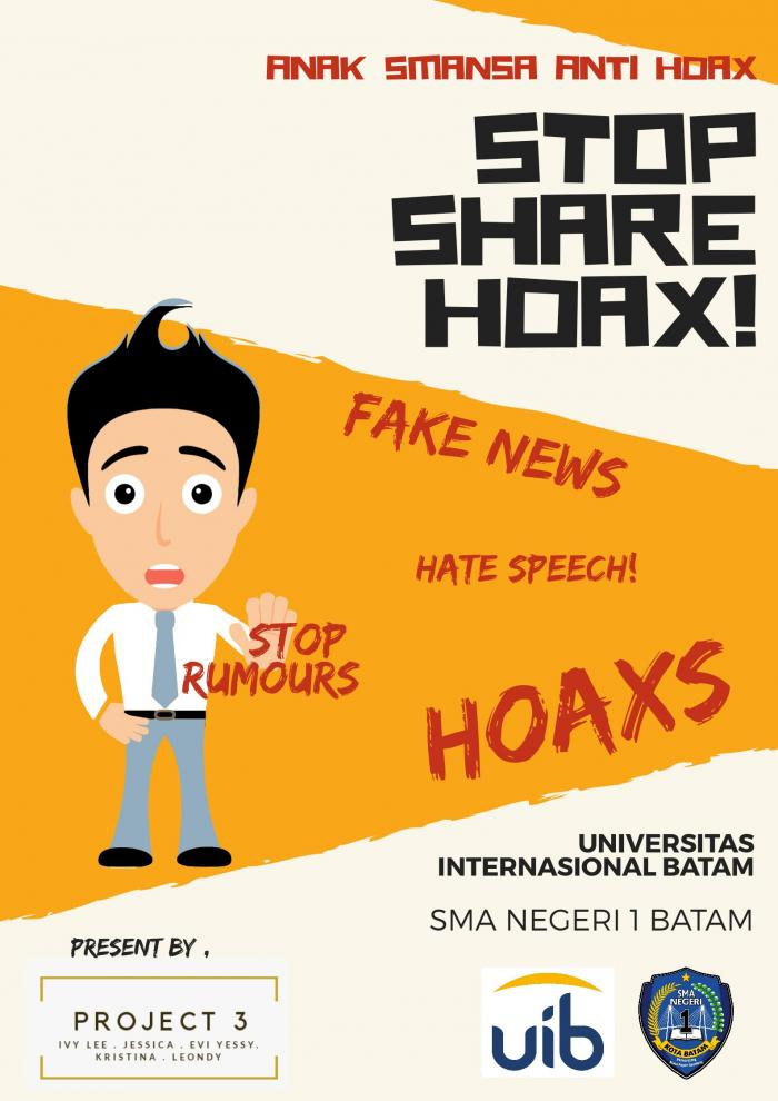 Poster Anti Hoax - Ivy Lee