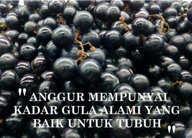Anggur sangat baik untuk kesehatan tubuh, khususnya saat berbuka puasa (Sumber: dokumen pribadi)