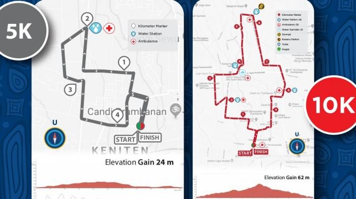 rute 5K dan 10K Marathon Jogja 2019 ( mandirimarathon.com)