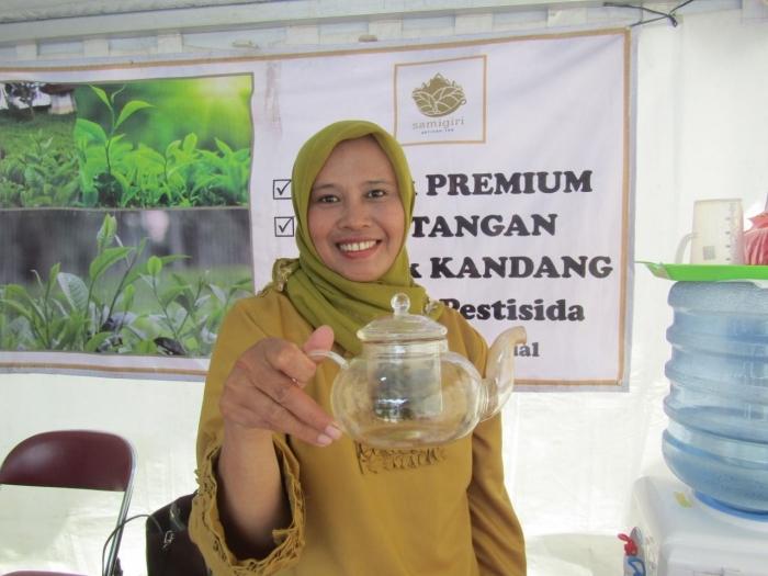 Ibu Surati, Petani Teh dari Kulonprogo (Dokumentasi Pribadi)