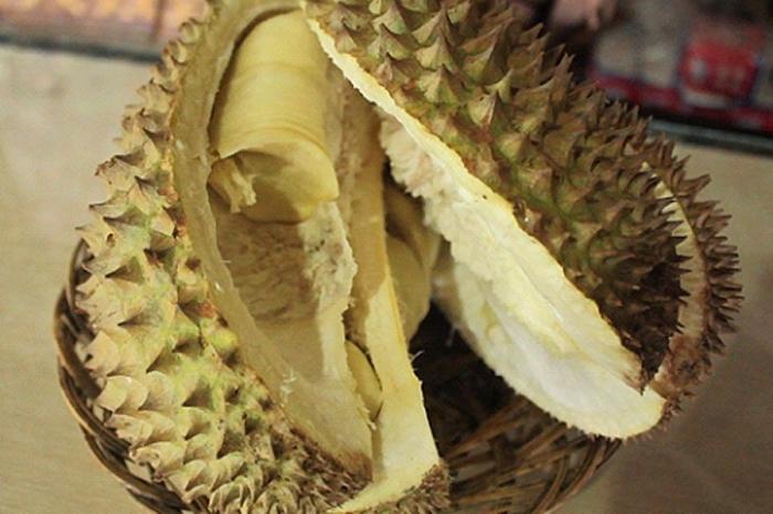 Durian lokal Rancamaya di Warso Farm (dok. pribadi)