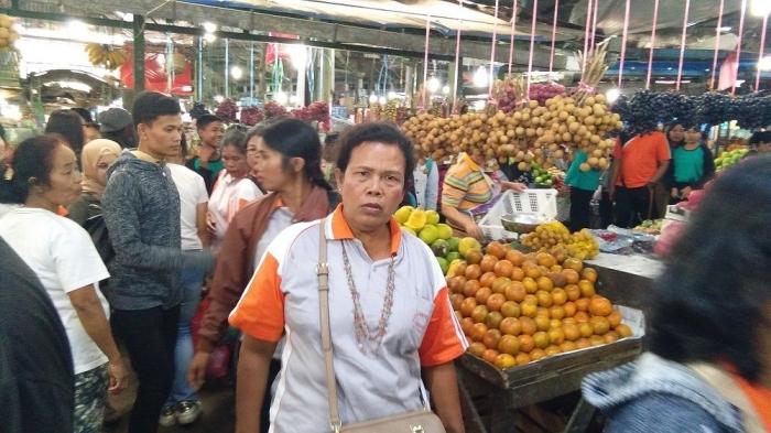pasar buah Berastagi (dokpri)