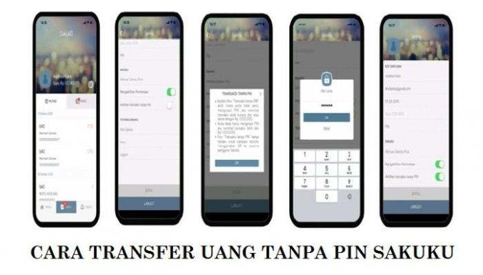 Transfer menggunakan Sakuku Tanpa PIN (Sumber: bca.co.id)