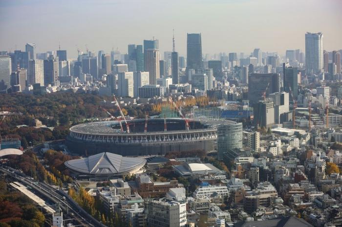 www.nippon.com - Penyelesaian untutk /olimpiade 2020 Sendagaya, harmonisasi dengan taman nasional disebelahnya .....