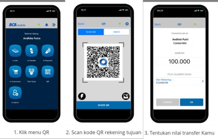kolase screenshot Cara transfer (dokpri)