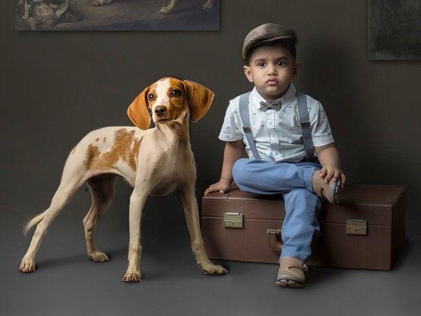 Ilustrasi Persahabatan Anak dan Anjing. Sumber Foto : https://pixabay.com