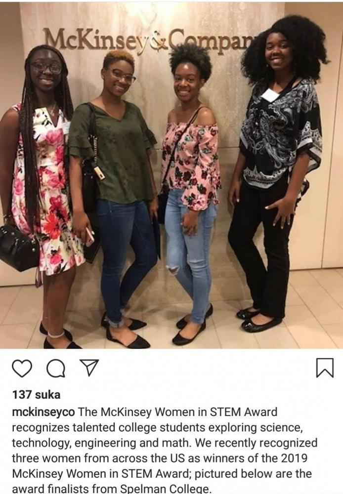 Calon Ilmuwan Wanita