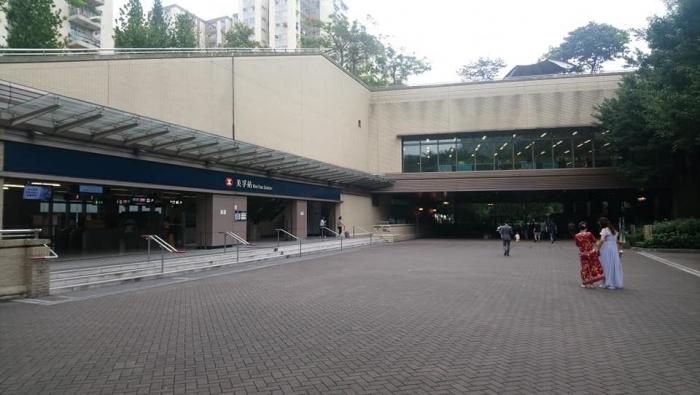 Terowongan ini merupakan pemisah antara taman sebelah kanan dan kiri | Dokumentasi Pribadi
