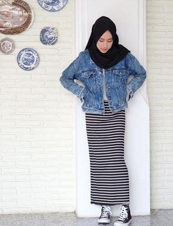 Contoh outfit simpel-elegan. (Gadis.co.id)