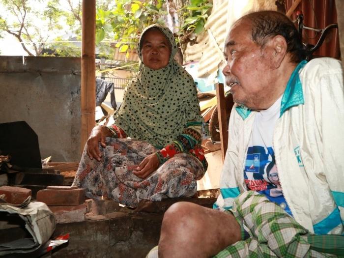 Nonok Patimah, 64 Tahun, dan Suaminya, Sumarna, 65 TahunCimahi (19/05/19). Foto: Dok. pribadi J. Krisnomo