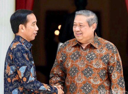 Jokowi dan SBY.sumber : dok istimewa/detikcom