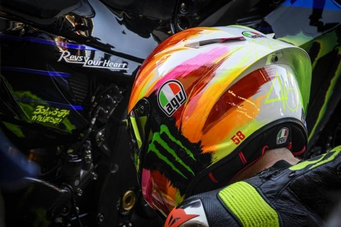helm baru nggak bantu The Doctor | Sumber: Dokumentasi motogp.com