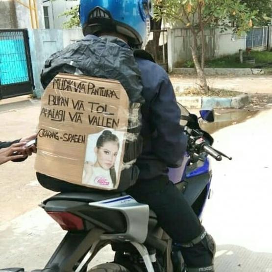 Viral,Foto-Foto Mudik Lucu Lebaran 2019