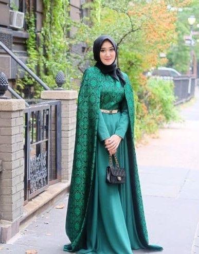 30 Model Gamis Brokat Kombinasi Batik Oleh Daniar Murdi Halaman 1