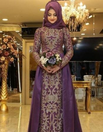 30 Model Gamis Brokat Kombinasi Batik Oleh Daniar Murdi Halaman All