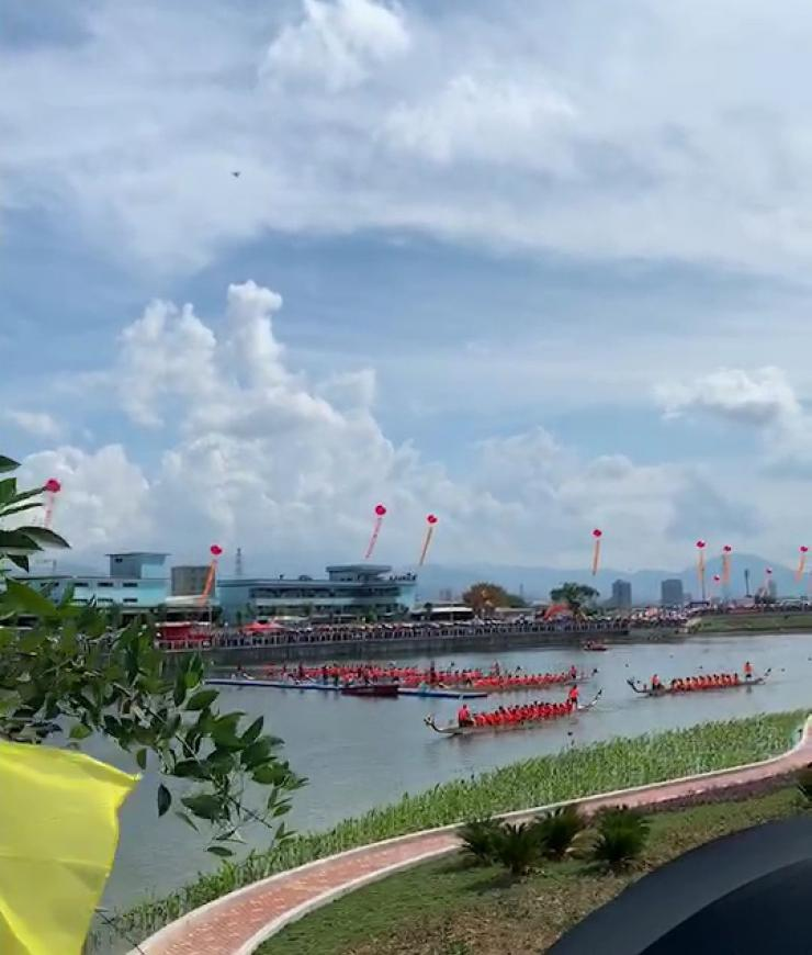Festival Mendayung Kapal Naga di Jieyang, Tiongkok